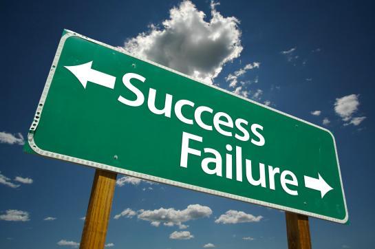 Success-Failure-Sign